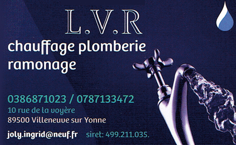 LVR Chauffage Plomberie Ramonage